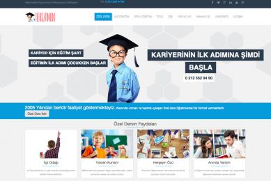 derszamani web sitesi seo ve tasarım projesi